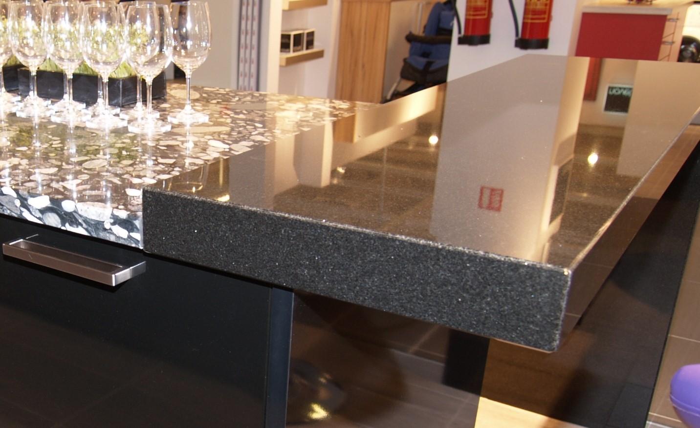 Nero Assoluto Satiniert Pflege küchen arbeitsplatten material ludwig schneider ag